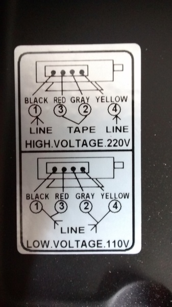 Changing input voltage on motor from 110v to 220v wiring question click image for larger version name bandsaw wiring labelg views 701 size asfbconference2016 Image collections