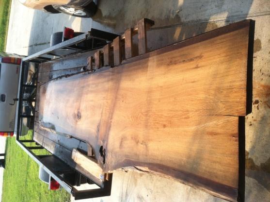 Click Image For Larger Version Name: Bartop Cypress Slab Views: 1548