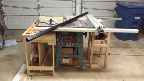 Vega pro 50 table saw fence installed on jet ts woodworking talk click image for larger version name before incrag views 900 size keyboard keysfo Choice Image