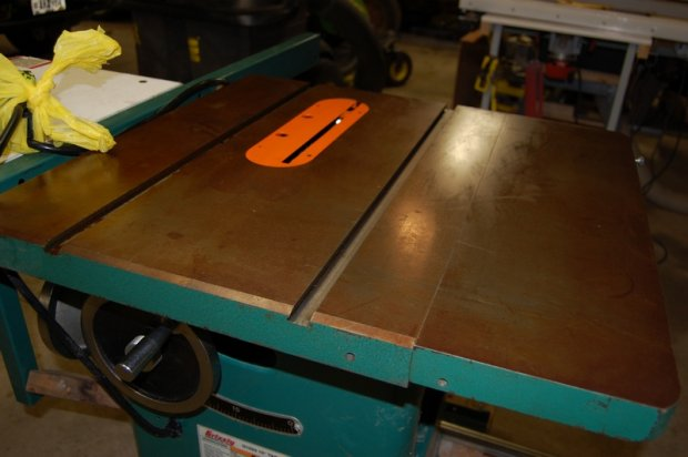 Charming Cleaning Table Saw Top   Mineral Spirits Vs Wd40 And Sandpaper Vs Steel  Wool   Woodworking Talk   Woodworkers Forum