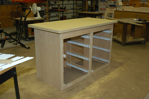 woodworking bench mdf