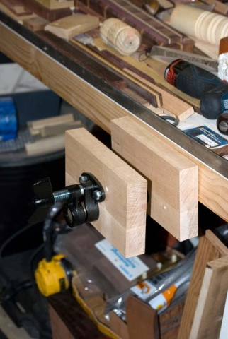 pipe clamp vise for bench woodworking talk woodworkers forum