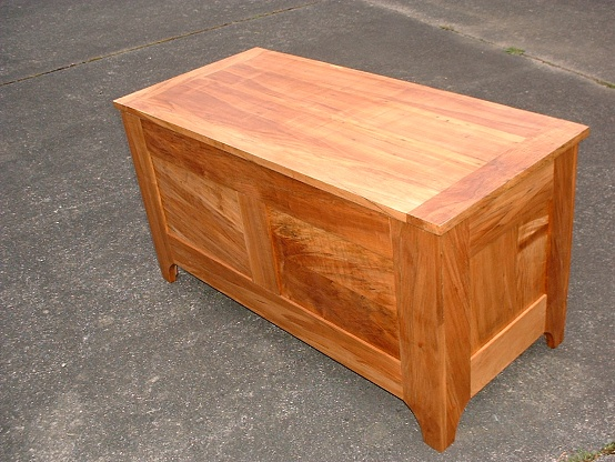 Woodwork Plans Wooden Blanket Chest PDF Plans