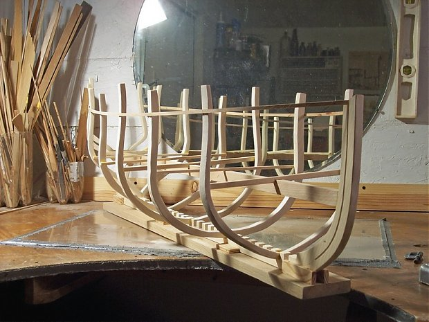 Ship Model Built From Scratch Woodworking Talk