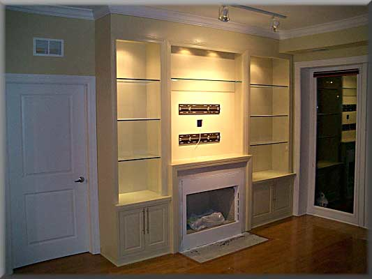 Fireplace Built-ins - Woodworking Talk - Woodworkers Forum