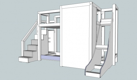 bunk bed plan review - woodworking talk - woodworkers forum