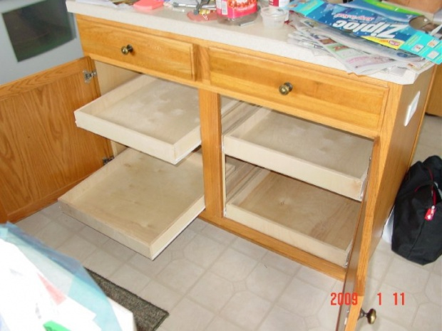 Sliding Cabinet Draws - Woodworking Talk - Woodworkers Forum
