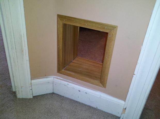 Methods to Speed Up Trim Installation-cat-door-done.jpg