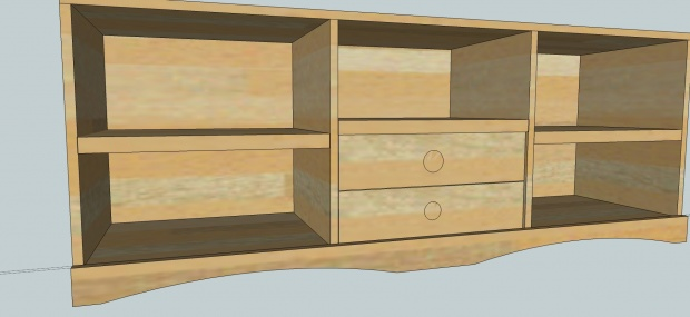 Entertainment Center Plans Woodworking