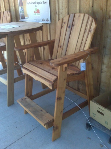 Liuard Chair Plans And Kits Adirondack Headboard Custom Furniture Coastal Art Accents For Your Home Deck Dock Patio