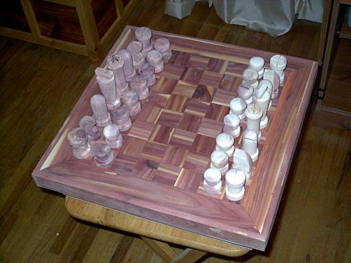 More Woodworking Chess Table Plans