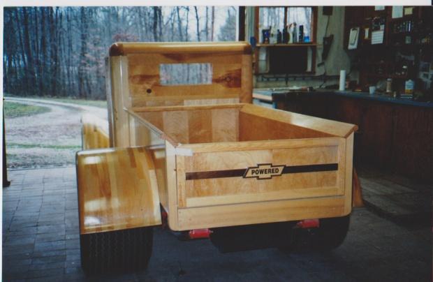 Wooden Chevy Truck Woodworking Talk Woodworkers Forum