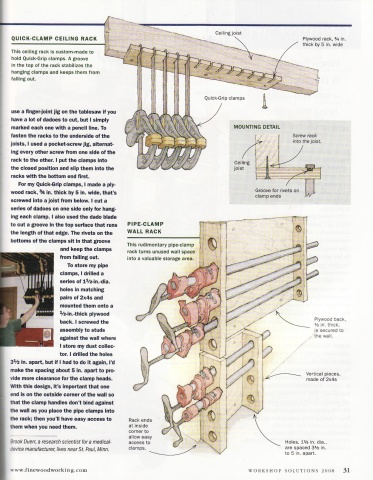 Lalan Wall Mounted Quilt Rack Woodworking Plan