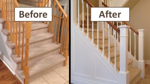 Good Click Image For Larger Version Name: Closed Stringer Staircase Renovation  Views: 201