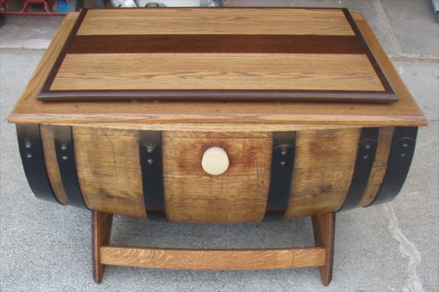 wine barrel coffee table Woodworking Talk Woodworkers Forum