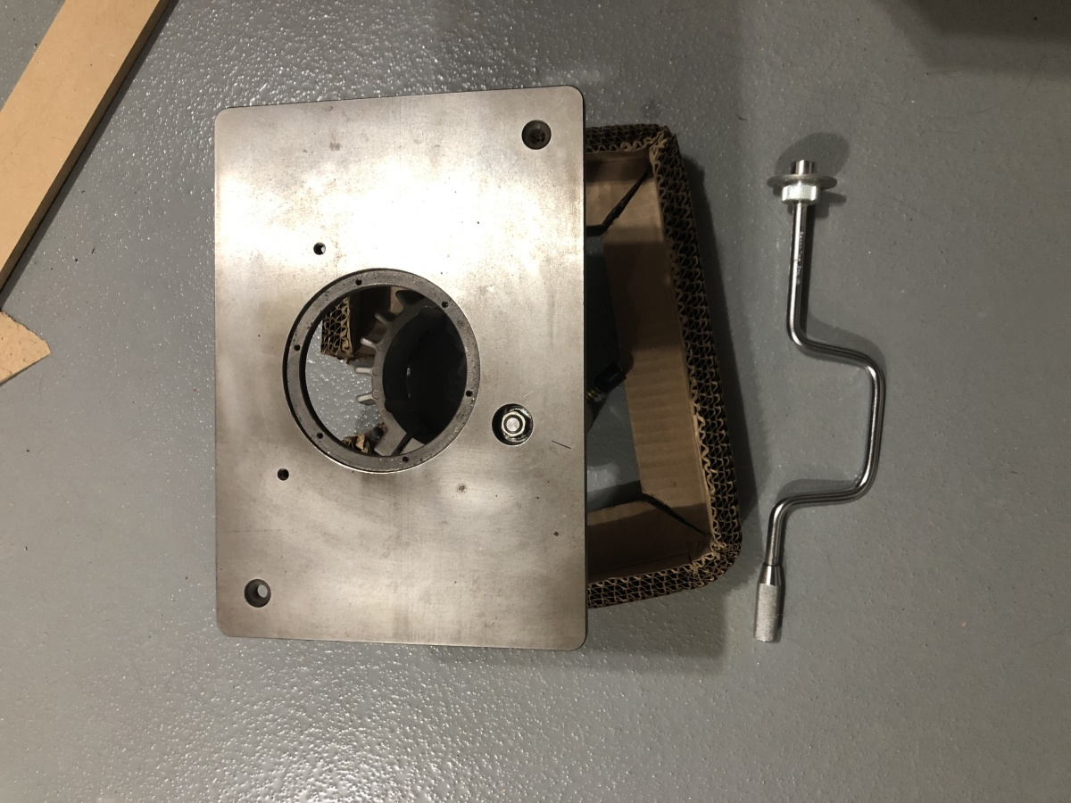"""For Sale: Plano 49"""" Vertical Clamps / Router Lift-comp-mcp-2.jpg"""