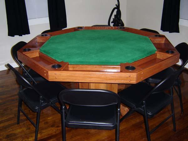 Octagonal Poker Table Woodworking Talk Woodworkers Forum