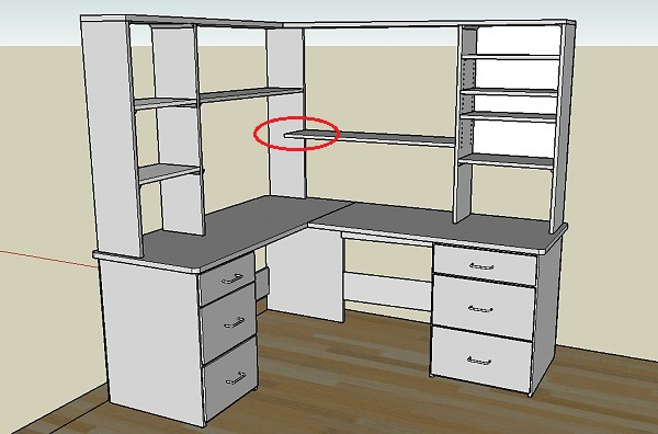 Woodwork Wood Plans Corner Desk PDF Plans