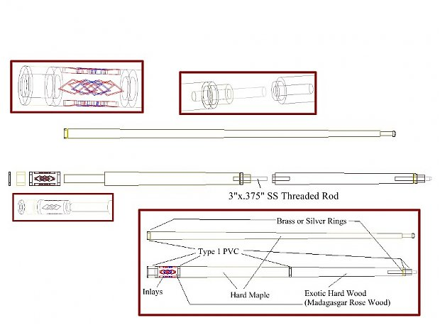 HELP Turning Pool cues Woodworking Talk Woodworkers Forum