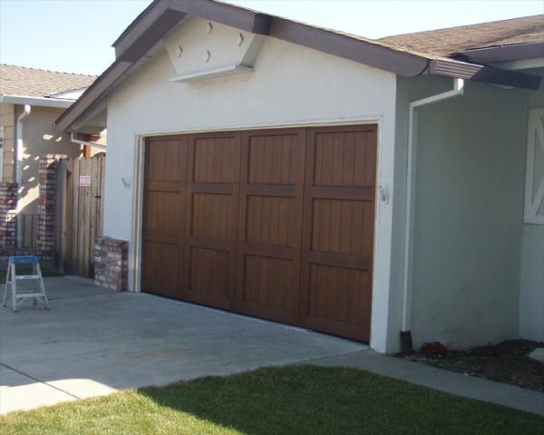 Garage Door Done With Sikkens Cetol Woodworking Talk