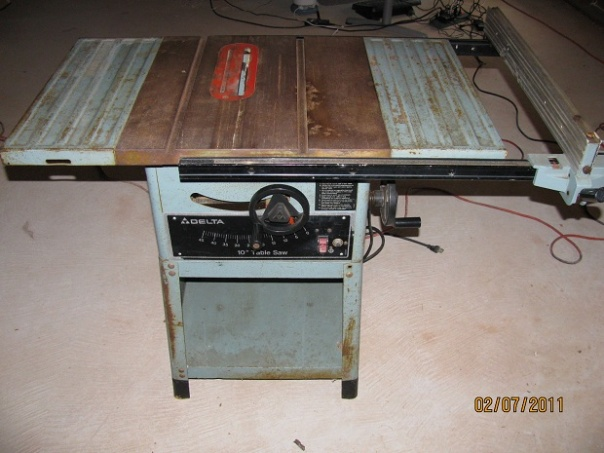 delta model 10 contractors table saw parts 2