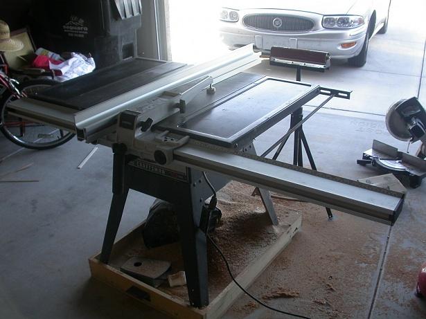 Add Delta Unifence To Craftsman Saw Woodworking Talk