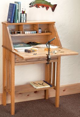 Fly Tying Desk Woodworking Talk Woodworkers Forum
