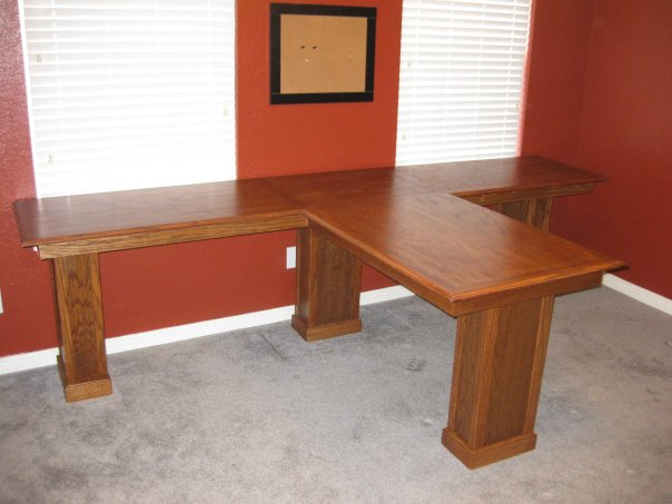 plywood desk woodworking plans