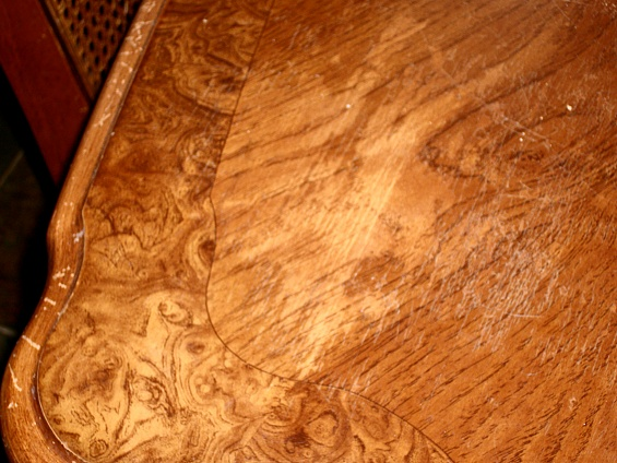 Refinishing Burl Veneer On A Dining Table Woodworking Talk - Burled walnut dining table