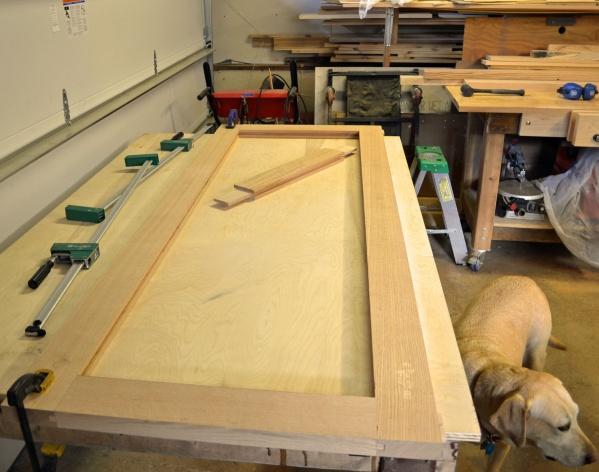 Exterior door build page 2 woodworking talk - How to build an exterior door frame ...