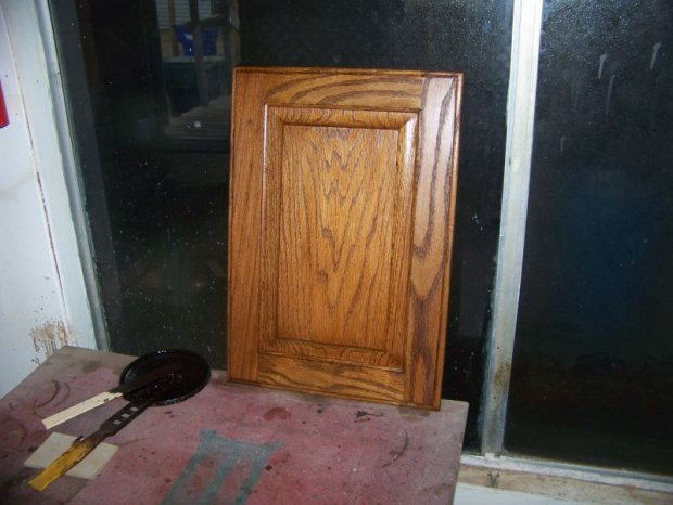Stain Oak Darker Staining Oak Cabinets-door2