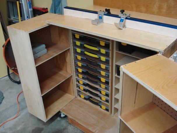 Miter Saw Workstation Woodworking Talk Woodworkers Forum