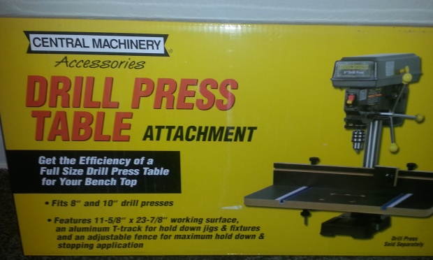 Harbor freight drill press table woodworking talk woodworkers forum harbor freight drill press table dpt01g greentooth Choice Image