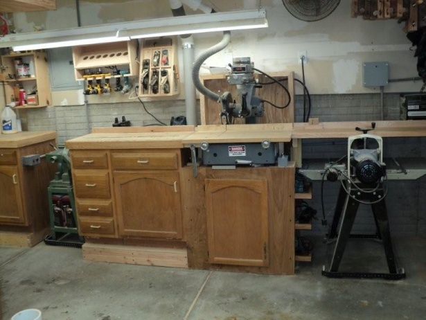Radial Arm Saw Dust Collection Woodworking Talk