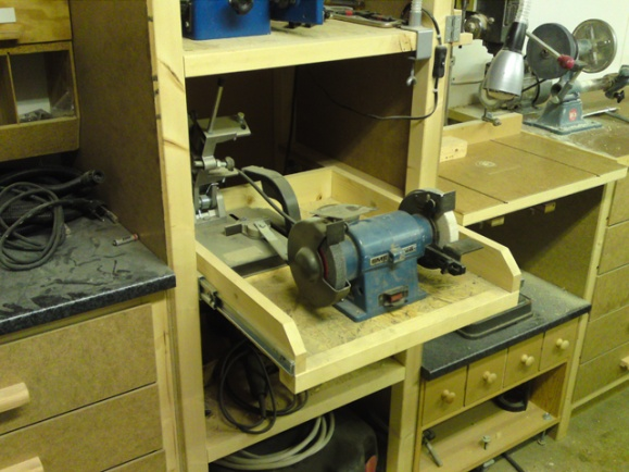 Nuthin Fancy Bench Grinder Exhaust Woodworking Talk