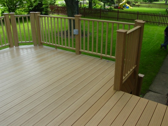 My experience with Menards Ultradeck Reversible composite ...