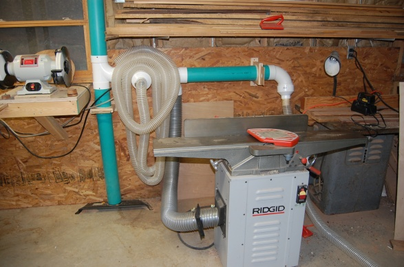 My Dust Collector Setup Woodworking Talk Woodworkers Forum