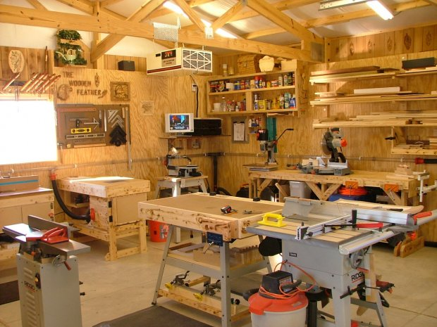 Show Us Your Shop Page 4 Woodworking Talk Woodworkers Forum