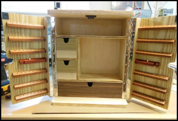 Marvelous Rotary Tools Cabinet (build) Dscn3536