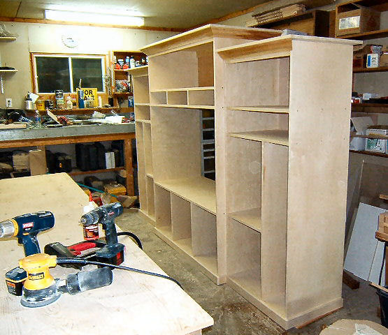 """Another Entertainment Center """"WIP"""""""