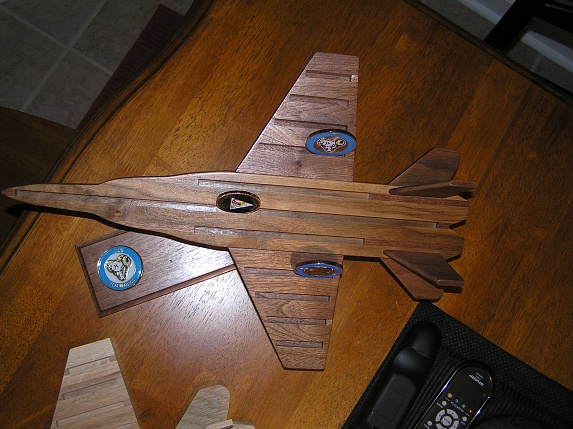 F 18 Challenge Coin Display Woodworking Talk