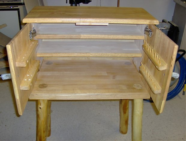 fly tying desk plans woodworking