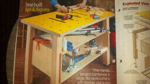 Woodworking Clamp Table