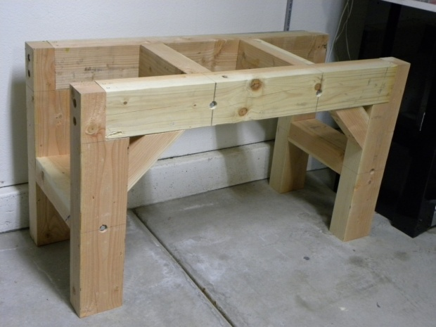 4x4 workbench plans