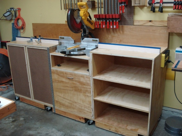 Miter Saw Workstation Woodworking Talk Woodworkers Forum