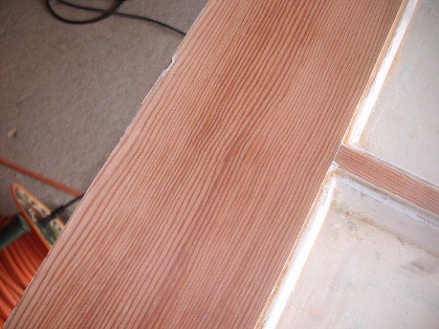 White Doors With Wood Trim