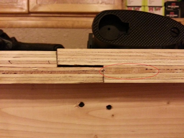 Plywood Benchtop - Uneven Surface - How to fix???-grain.jpg