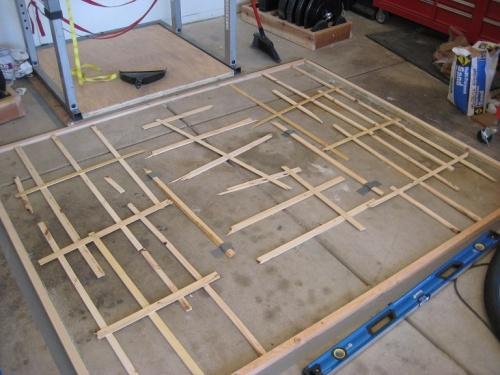 Leveling a large platform woodworking talk woodworkers forum