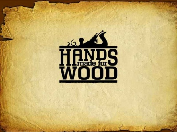 Click Image For Larger Version Name Hands Made Wood Logo 2 Views