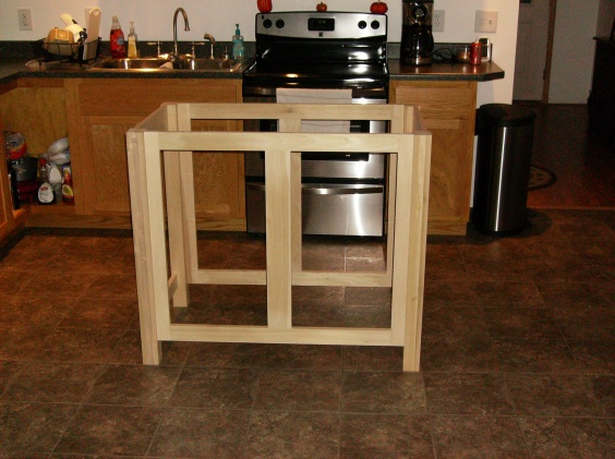 Kitchen Island Work Center Plans Woodworking Talk